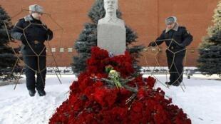 Красная площадь, Москва, 5 марта 2013