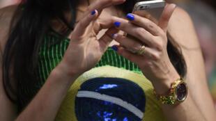 Téléphone portable.
