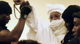 Tsohon Shugaban Chadi Hissène Habre da ke fuskantar Shari'a a Chadi