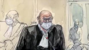 2020-12-16 france paris charlie hebdo trial hyper cacher lawyer Richard Malka