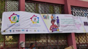 Bâtiment du nouvel «Observatoire des élections», créé par la société civile malagasy pour «crédibiliser» les élections à Madagascar.