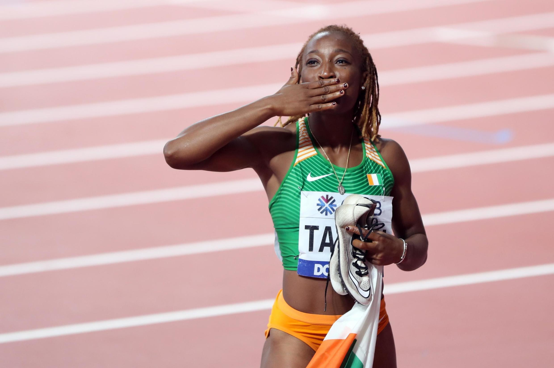 L'Ivoirienne Marie-Josée Ta Lou a terminé en bronze sur 100m aux Mondiaux de Doha.