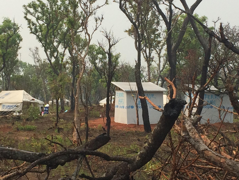 Le camp de réfugiés de Lovua, à une centaine de kilomètres de la frontière congolaise, accueille notamment des réfugiés congolais qui ont fui les violences au Kasaï, 18 août 2017 (photo d'illustration).