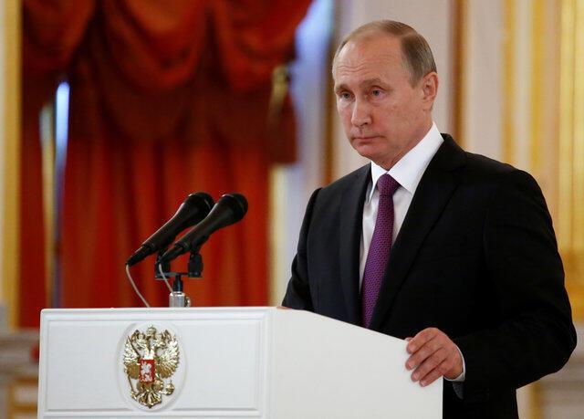 Vladimir Putin, Rais wa Urusi