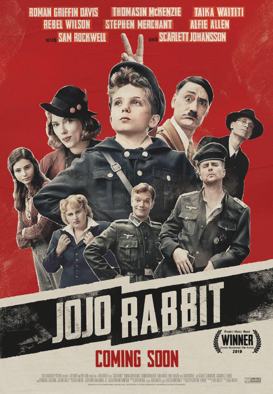 L'affiche du film «Jojo Rabbit».