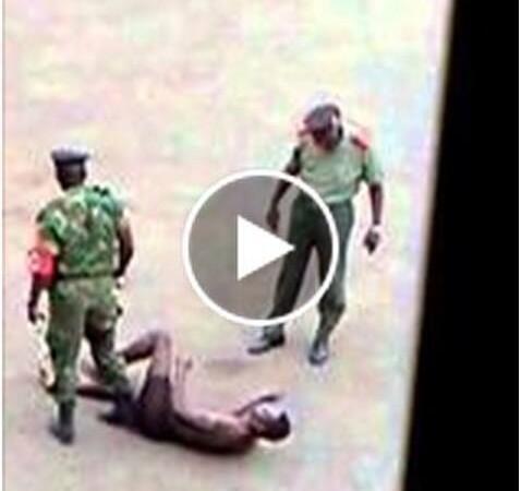 Militares são-tomenses agridem cidadão
