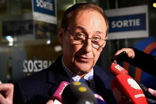 Didier Gailhaguet, presidente da Federação Francesa de Esportes do Gelo, em entrevista a jornalistas, no dia 3 de fevereiro.