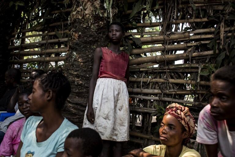 Desplazados internos por la violencia que azota las provincias del centro de