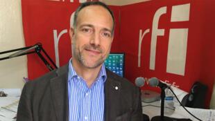 Raphaël Brigandi, le chargé de communication de la délégation de l'Union européenne en Haïti, et directeur de production de la semaine de l'Europe.