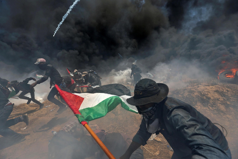 Bạo động ở dải Gaza ngày 14/05/2018 làm 59 người chết và 2.400 người bị thương.