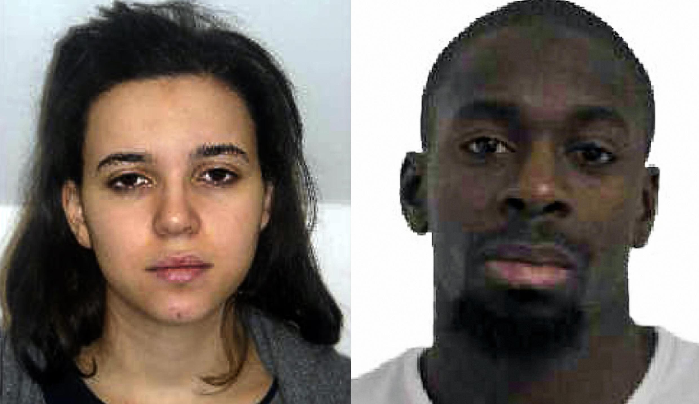 Hayat Boumeddiene, 26 ans et Amedy  Coulibaly, 32 ans sont recherchés par la police et considérés comme dangereux.