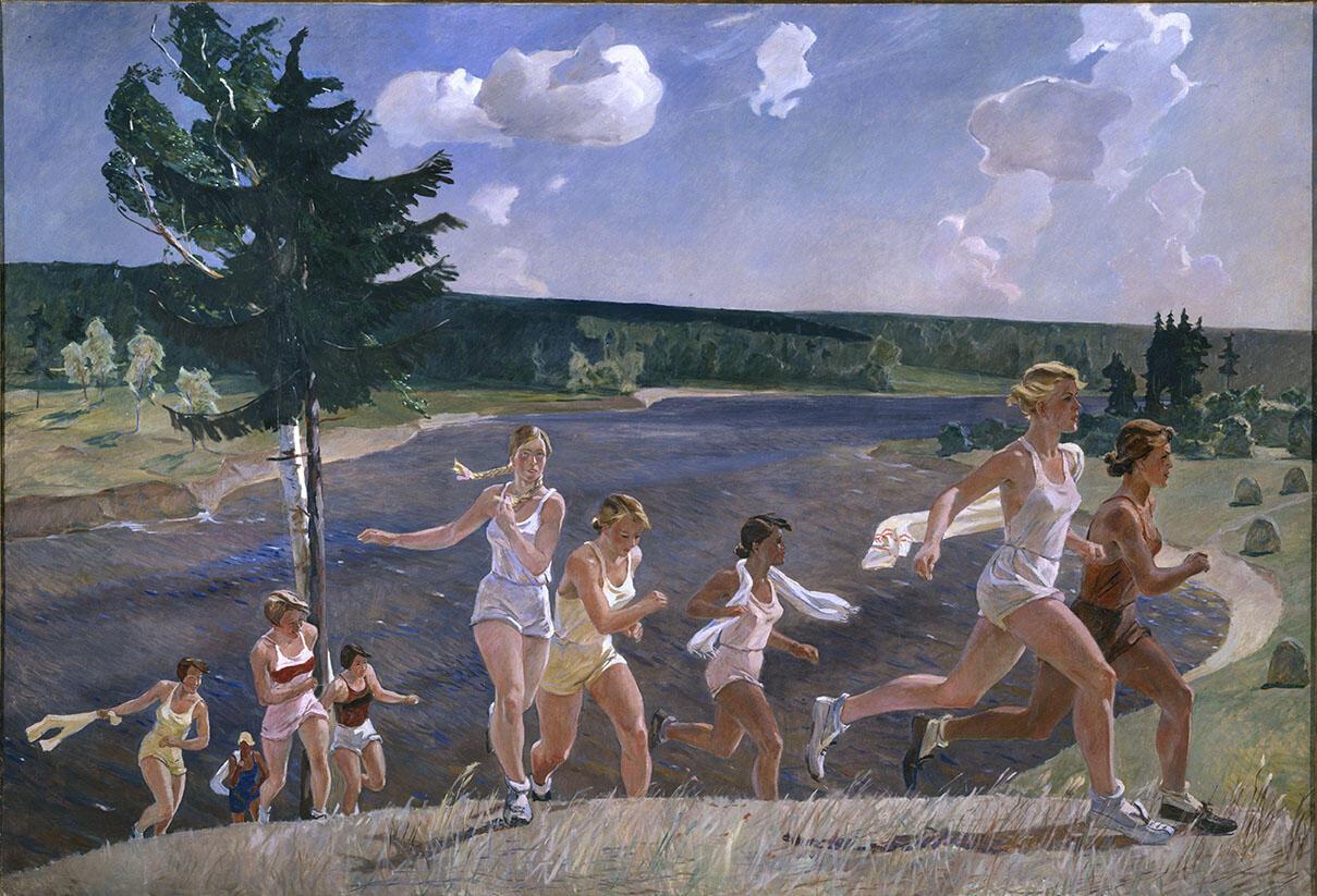 Александр Дейнека, «Раздолье». 1944 г.