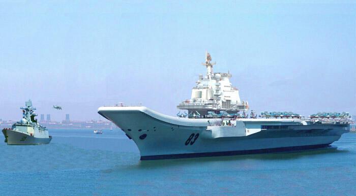 Hàng không mẫu hạm do Trung Quốc mua lại từ Ukraina (Reuters)