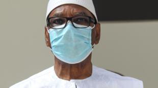 Le président malien Ibrahim Boubacar Keïta a rencontré les représentants de sa majorité (image d'illustration).