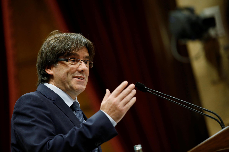 A proposta do presidente catalão Carles Puigdemont recebeu o apoio da Câmara.