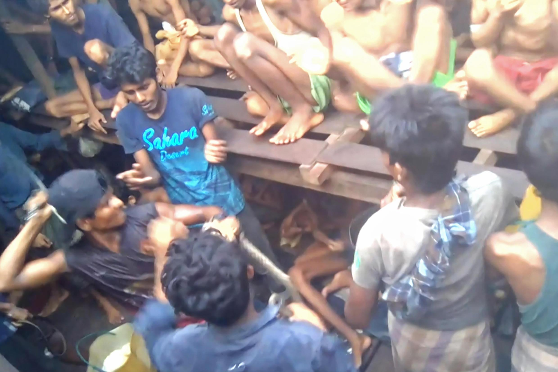 2020-12-15 myanmar Rohingya refugees human trafficking smuggling bangladesh
