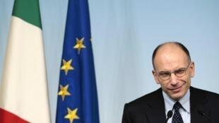 Le président du Conseil italien Enrico Letta a affirmé le 27 novembre 2013, que son gouvernement est plus fort après le départ de Berlusconi