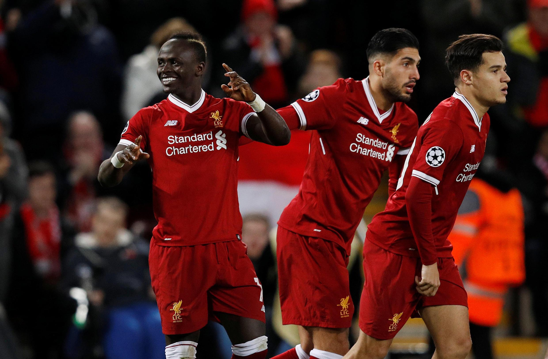 Sadio Mané a inscrit un magnifique doublé avec Liverpool contre le Spartak Moscou (7-0) le 6 décembre en Ligue des champions.
