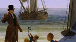 Couverture du livre de Sylvain Venayre «Ecrire le Voyage».