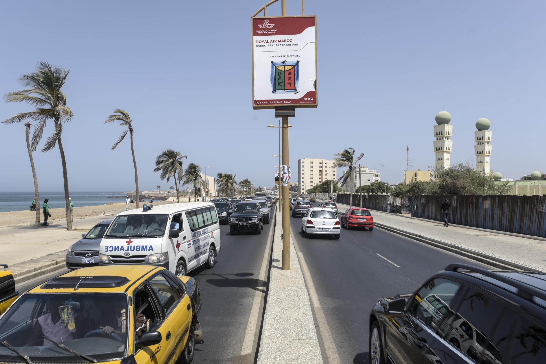 The seaside in Dakar, Senegal