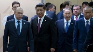 上合組織峰會繼金磚國峰會結束後登場