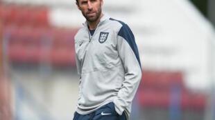 Kocha wa timu ya taifa ya vijana ya Uingereza, chini ya umri wa miaka 21, Gareth Southgate.