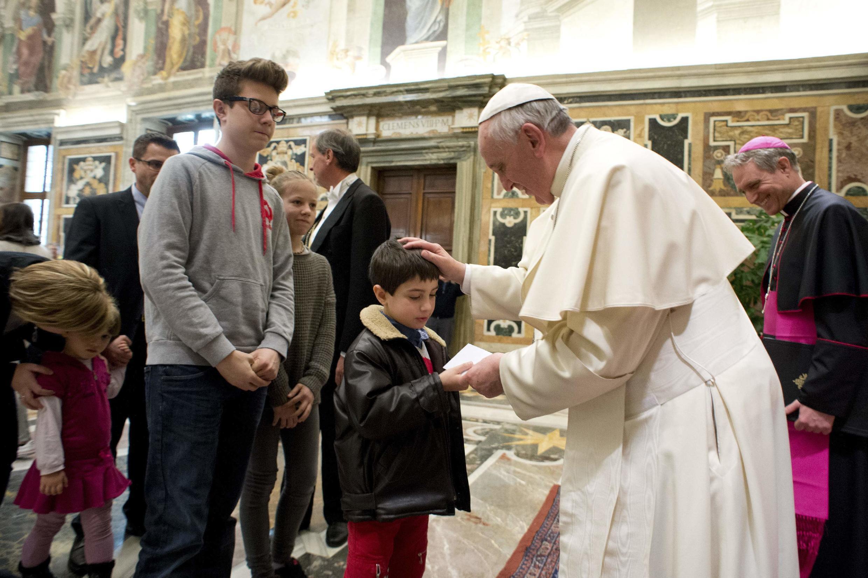 Giáo hoàng Phanxicô. Ảnh chụp tại Vatican ngày 03/03/ 2014