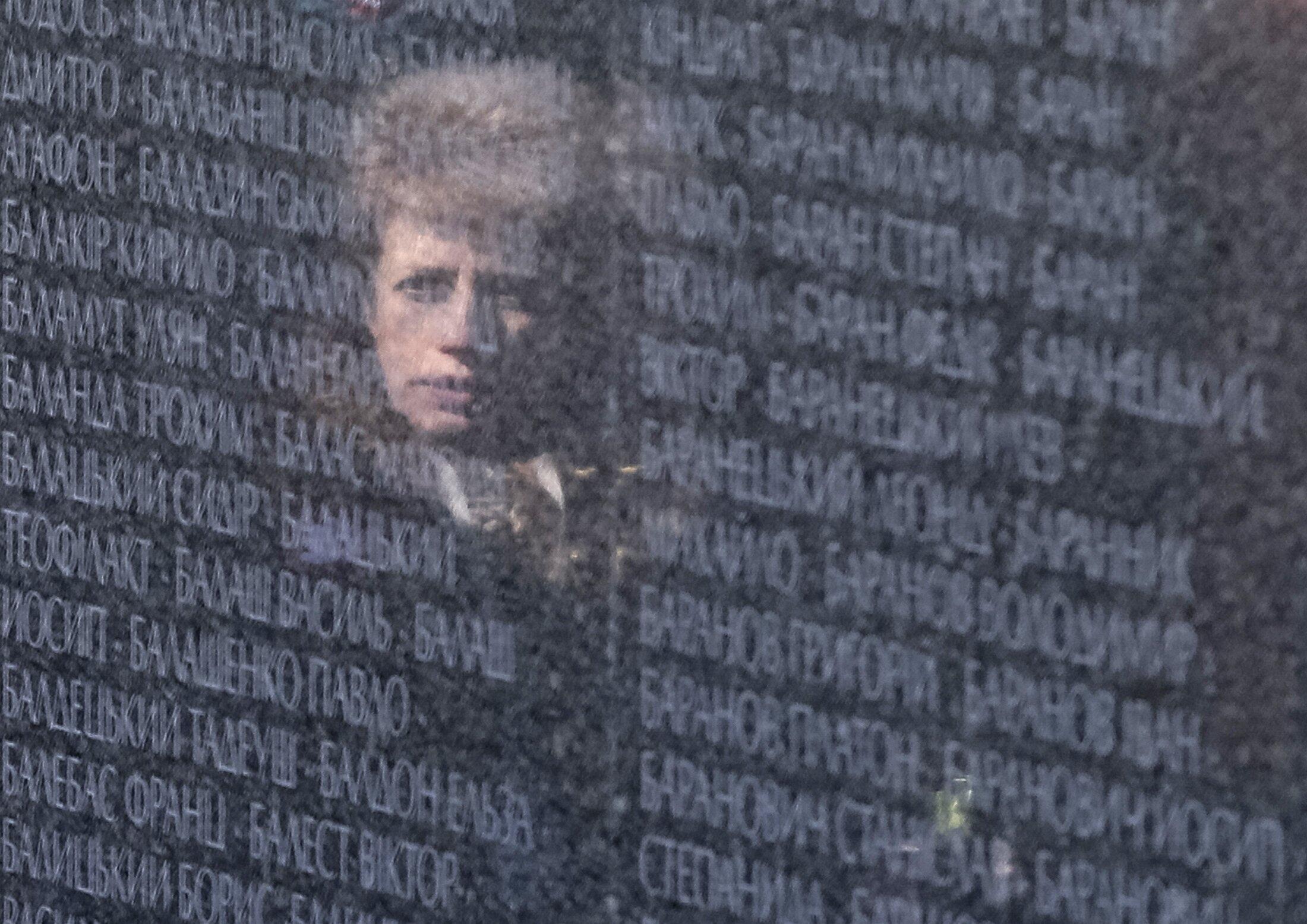 Đài tưởng niệm các nạn nhân gồm cả người Ba Lan bị tàn sát dưới chế độ Stalin (1937-1941).