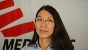Joanne Liu, présidente internationale de Médecins sans frontières (MSF).