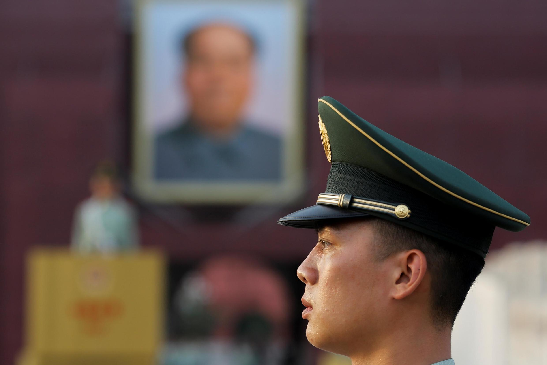 Площадь Тяньаньмэнь в Пекине, 16 мая 2019