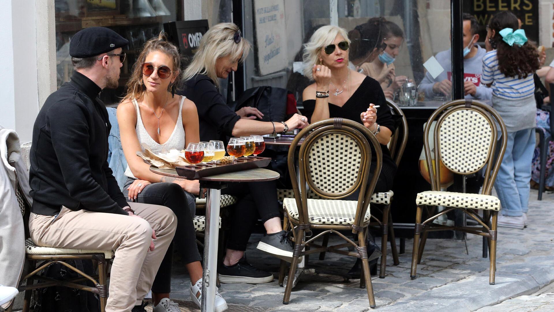 terrasse_café_Belgique_déconfinement - AFP - Carrefour de l'Europe