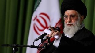伊朗最高领袖哈梅內伊资料图片