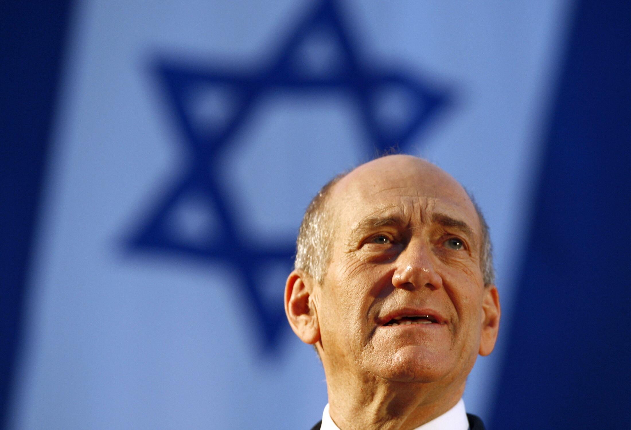 Эхуд Ольмерт, премьер министр Израиля (2006-2009)