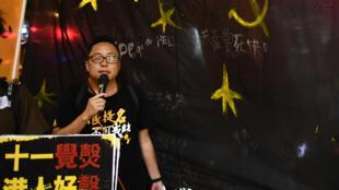 Le militant pro-démocratie Tam Tak-chi