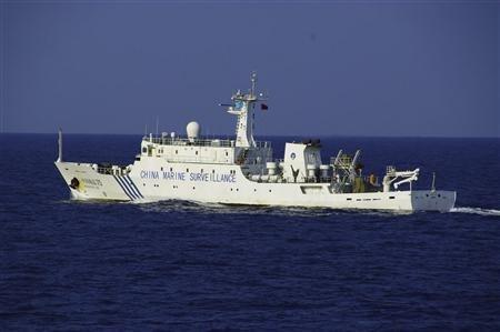 Tàu hải cảnh Trung Quốc.