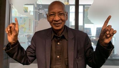Le Maestro Boncana Maïga relie l'Afrique et les Caraïbes.