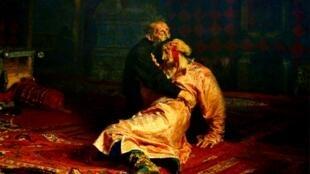 Мужчина повредил знаменитую картину Ивана Репина в Третьяковской галерее