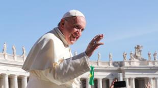 Le pape François se rendra dans les pays baltes du 22 au 25 septembre 2018. Ici, sur la place Saint-Pierre au Vatican, le 12 septembre 2018.