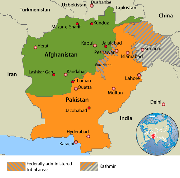 Afghanistan, Pakistan and their neighbours