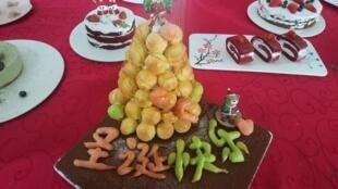 圣诞节的甜点