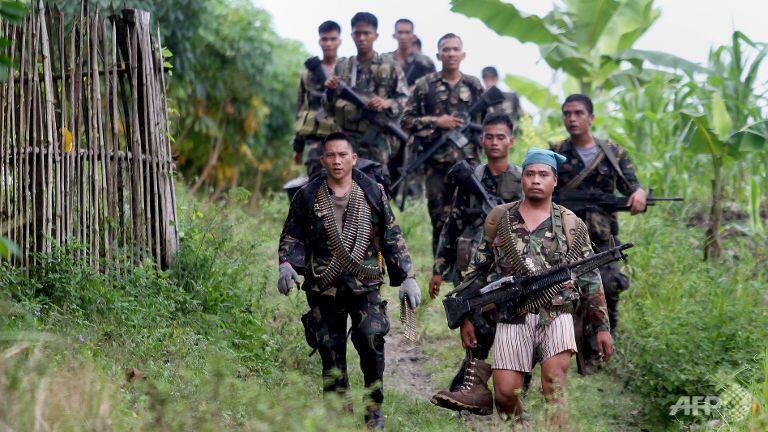 Quân đội Philippines tuần tra tại phía nam đảo Mindanao. Ảnh minh họa.