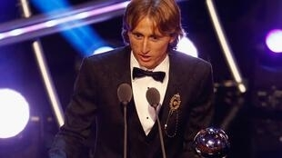 Luka Modric, mchezaji bora wa mwaka 2018