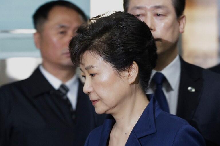 پارک گون هه، رئیس جمهوری سابق کره جنوبی