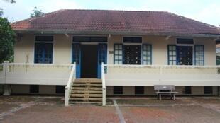 Nhà Trà My, Làng Trẻ em SOS Huế, được xây dựng từ năm 1998 và chuẩn bị được trùng tu.