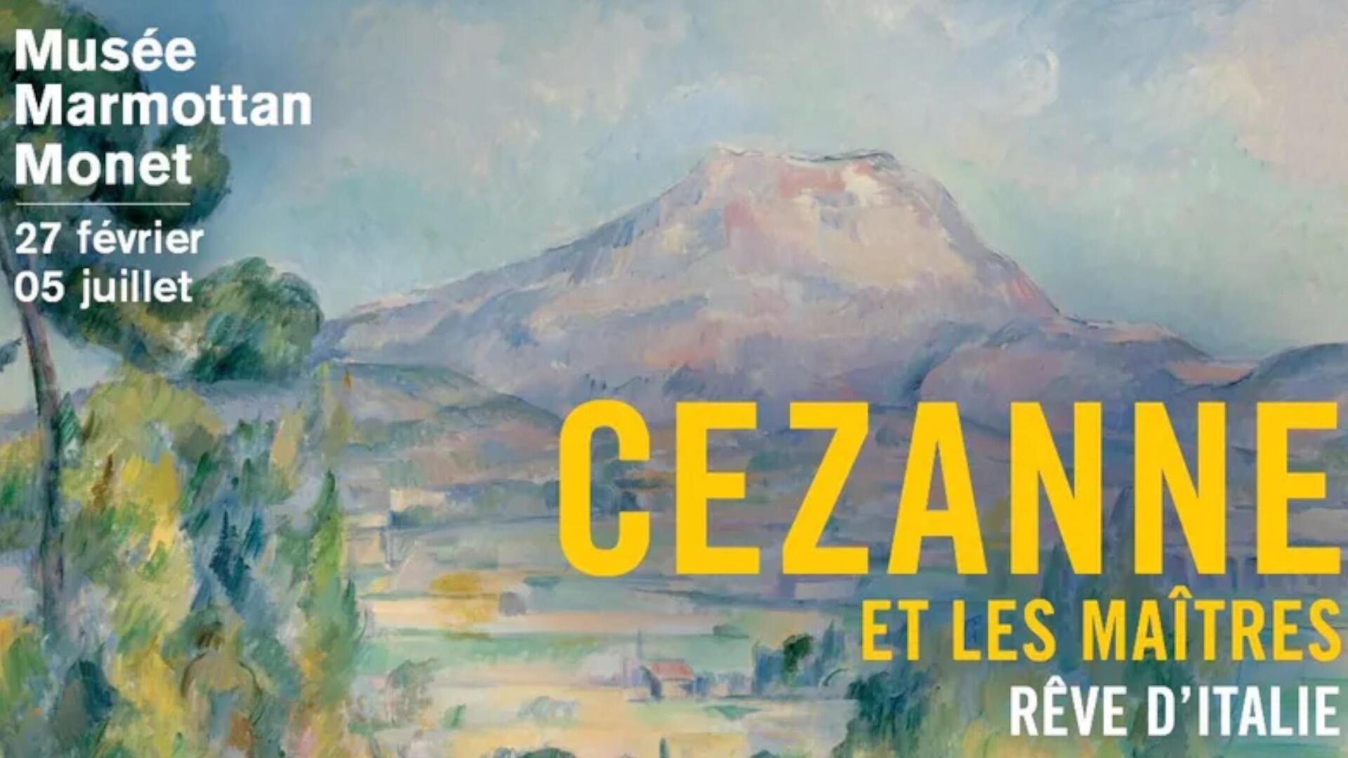 L'exposition «Cézanne et les maîtres. Rêve d'Italie», au Musée Marmottan à Paris jusqu'au 3 janvier 2021.