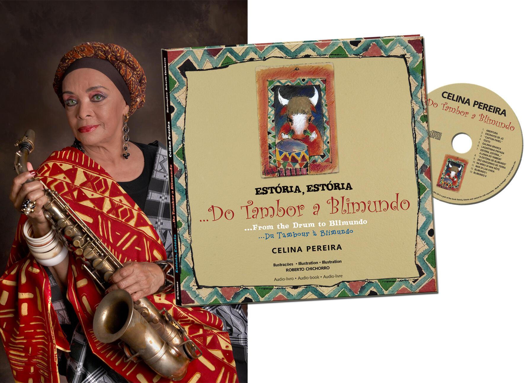 A cantora cabo-verdiana Celina Pereira foi, nomeadamente, autora deste áudio livre com histórias para crianças lançado em 2010.