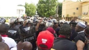 Manifestation au Mali, le 2 juin 2018.