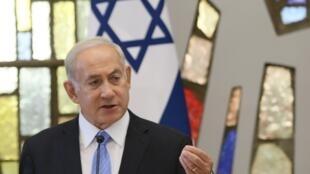 """بنیامین نتانیاهو، نخست وزیر اسرائیل، که برای شرکت در اجلاس سران کشورهای حوزه دریای بالتیک به لیتوانی سفرکرده است، در""""ویلنیوس"""" با رهبران کشورهای بالتیک دیدار وگفت وگو کرد."""