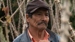 Un campesino guaraní, Bolivia.