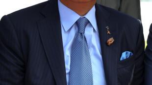 Thủ tướng Malayssia Najib Razak. Ảnh chụp trong chuyến đi Bangkok ngày 10/10/2016.